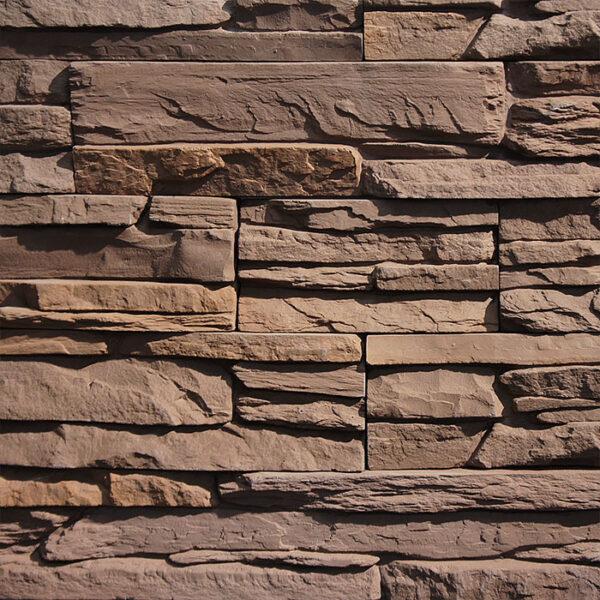 Искусственный декоративный камень Карелия 3064 для внешней отделки фасадов и внутренней отделки дома, квартиры и других помещений