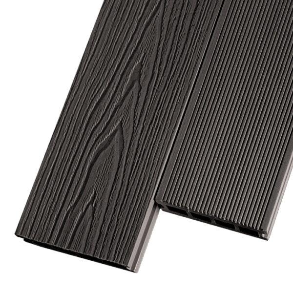 Композитная террасная доска из ДПК, декинг Decking Premier 150х26 мм цвет венге